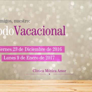 Periodo Vacacional 2016