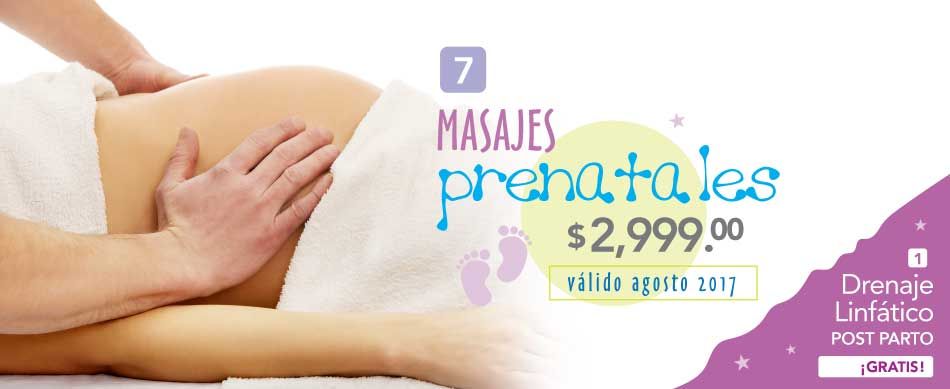 Masajes Prenatales