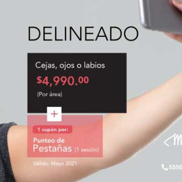 Delineado + Punteo de Pestañas